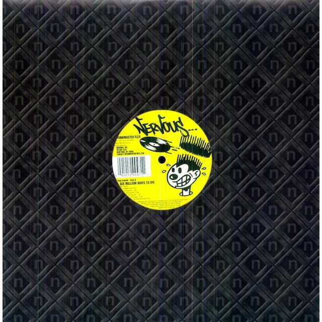 Funkmaster Flex SIX MILLION WAYS TO DIE / SAD & BLUE Vinyl Record
