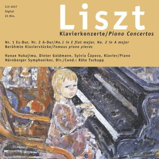 Liszt PIANO CONCERTOS 1/2 CD