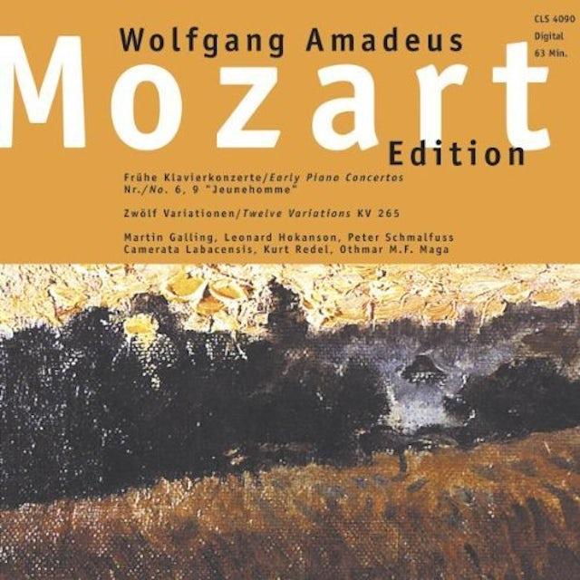 Mozart EARLY PIANO CONCERTOS CD