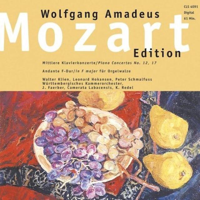 Mozart MIDDLE AGE PIANO CONCERTOS CD