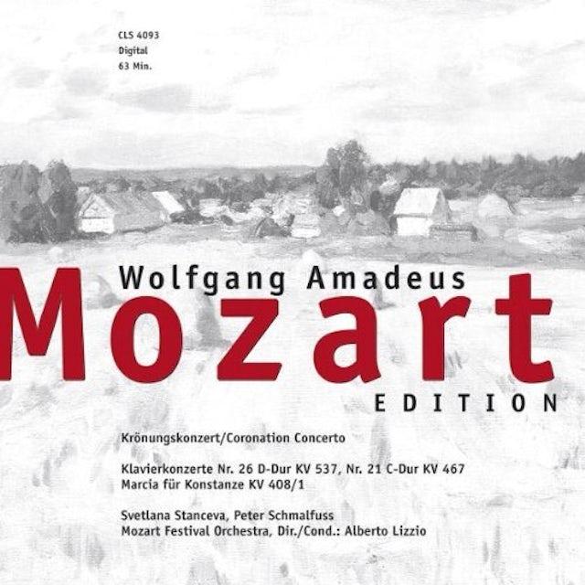 Mozart CORONATION CONCERTO CD