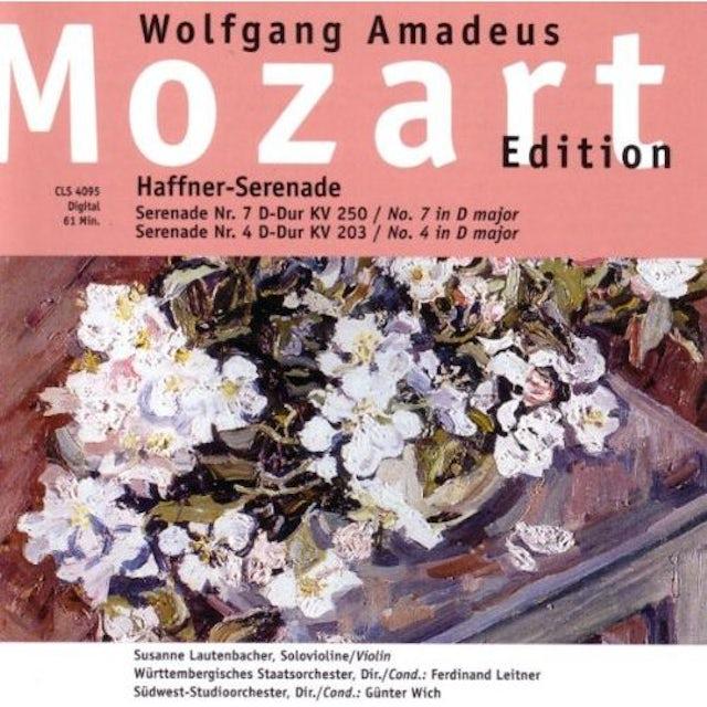 Mozart HAFFNER SERENADE (NO 7 D-MAJ CD