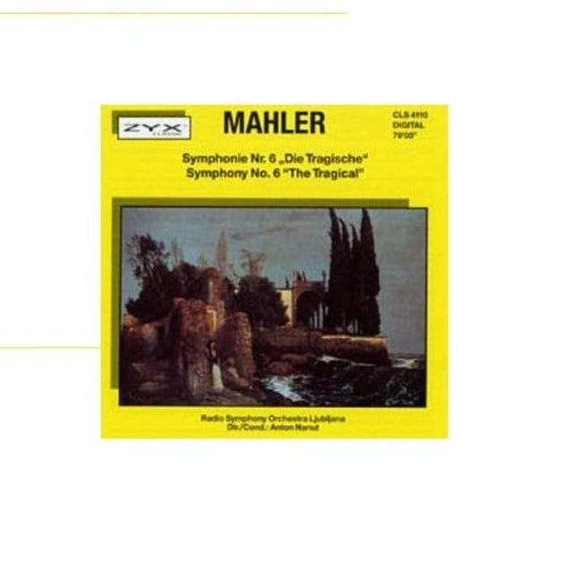 "Gustav Mahler SYMPHONY 6 ""THE TRAGIC"" CD"