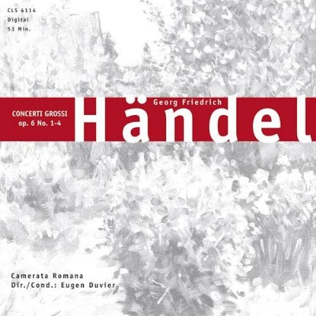 Handel CONCERTI GROSSI OP6 NO 1-4 CD