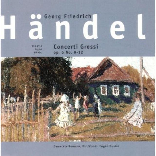 Handel CONCERTI GROSSI OP6 OP 9-12 CD