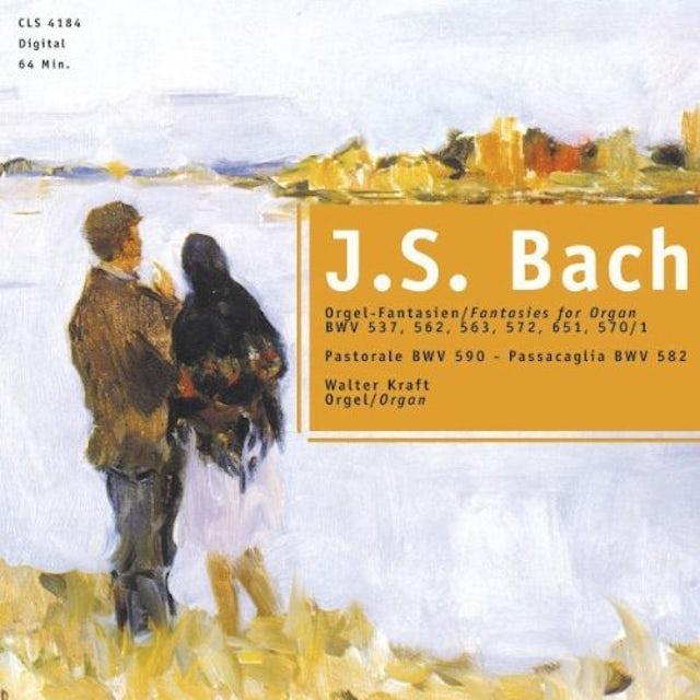 J.S. Bach FANTASIES FOR ORGAN CD