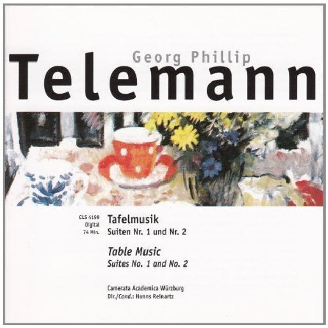 Telemann TEFELMUSIK CD