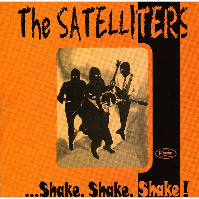 Satelliters SHAKE SHAKE SHAKE CD