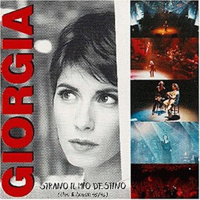 Giorgia STRANO IL MIO DESTINO CD