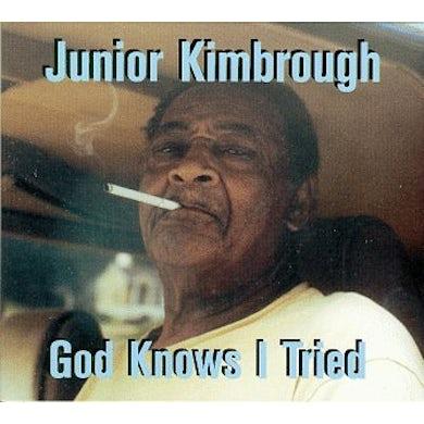 Junior Kimbrough GOD KNOWS I TRIED CD