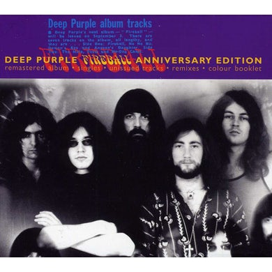 Deep Purple FIREBALL: 25TH ANNIVERSARY CD
