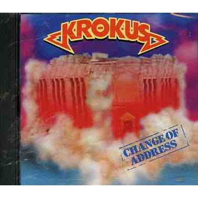 Krokus CHANGE OF ADDRESS CD
