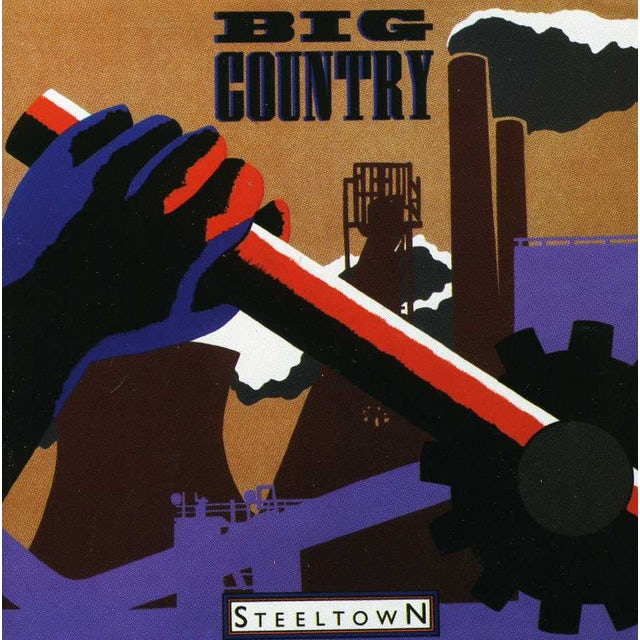 Big Country STEEL TOWN CD