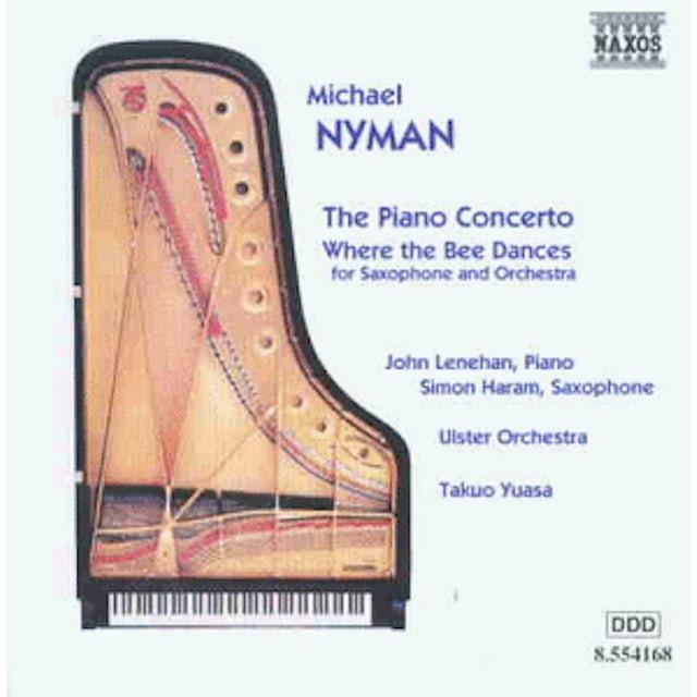 Michael Nyman PIANO CONCERTO / WHERE THE BEE DANCES CD