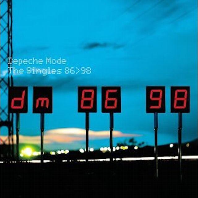 Depeche Mode SINGLES 86>98 CD