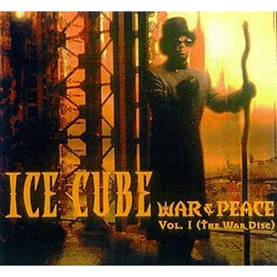 Ice Cube WAR & PEACE 1 (WAR DISC) CD