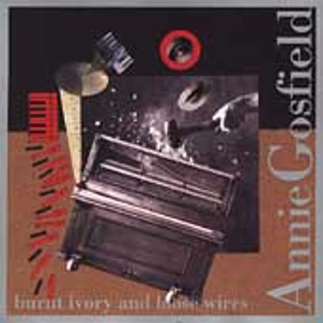 Annie Gosfield BURNT IVORY & LOOSE WIRES CD