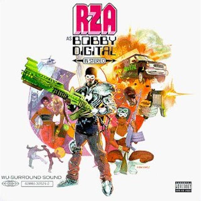 Rza AS BOBBY DIGITAL IN STEREO CD