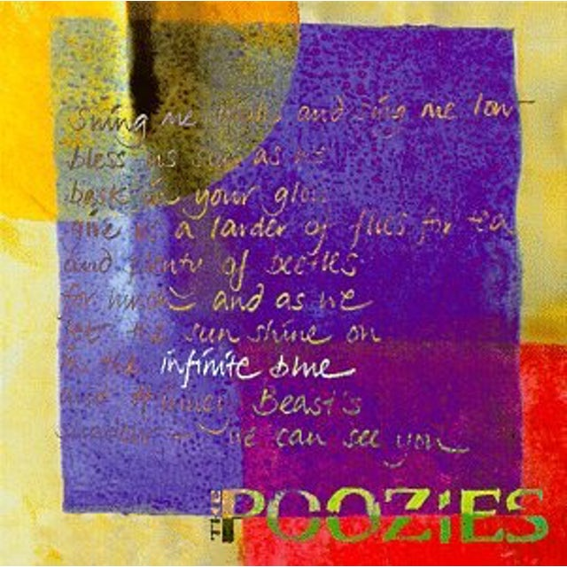 Poozies INFINITE BLUE CD