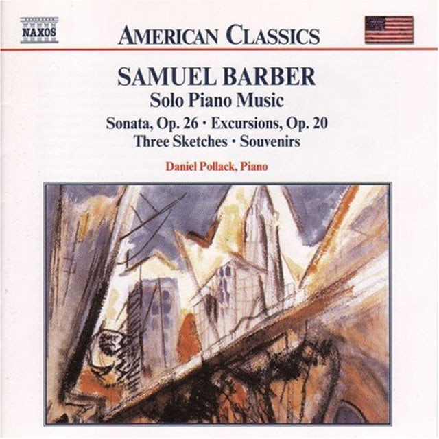 Samuel Barber COMPLETE PUBLISHED SOLO PIANO MUSIC CD