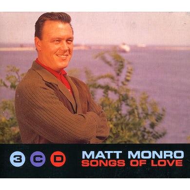 Matt Monro SONGS OF LOVE (3 CD BOX SET) CD