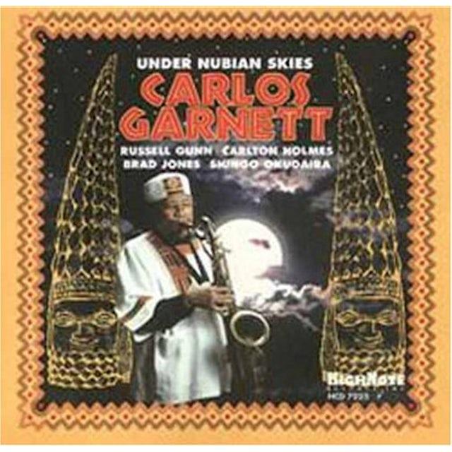 Carlos Garnett UNDER NUBIAN SKIES CD