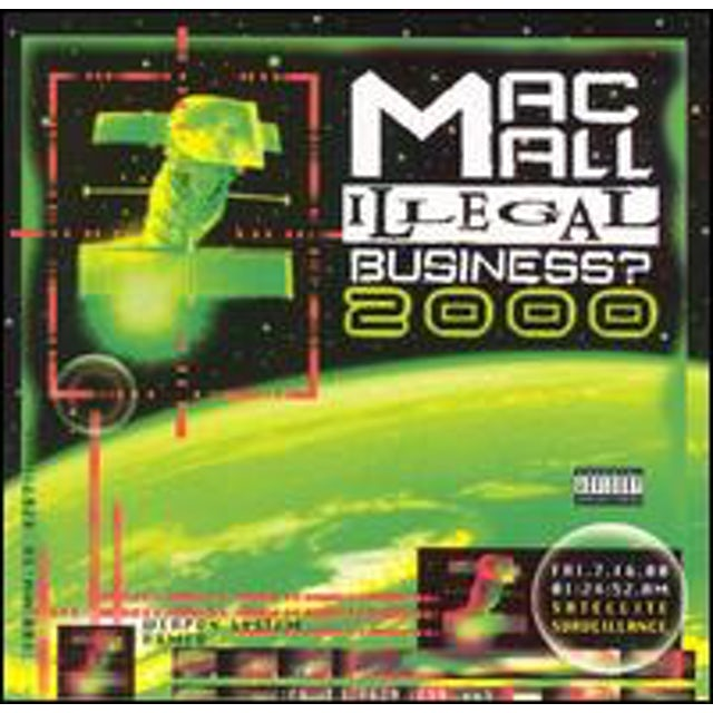 Mac Mall ILLEGAL BUSINESS 2000 CD