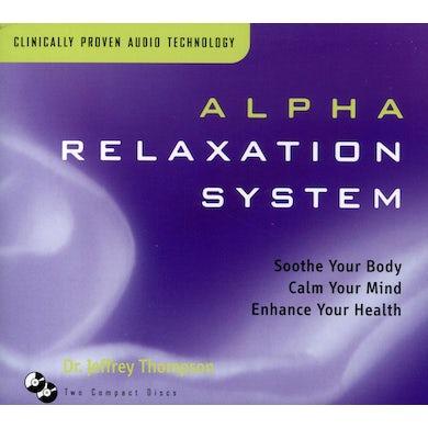 Jeffrey Thompson ALPHA RELAXATION SYSTEM (BOX) CD