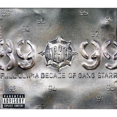 FULL CLIP: DECADE OF GANG STARR CD