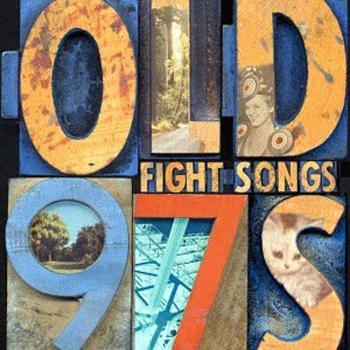 Old 97's FIGHT SONGS CD