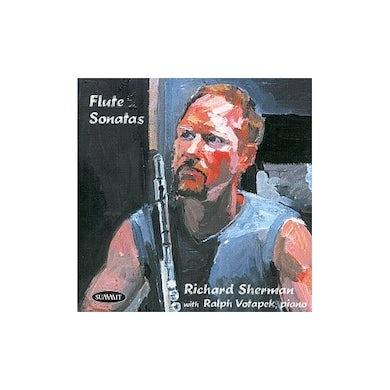 Richard Sherman FLUTE SONATAS CD
