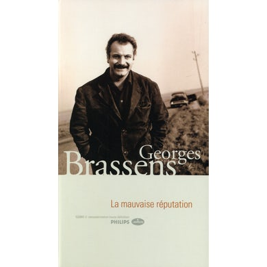 Georges Brassens LA MAVUAISE REPUTATION - ANTHOLOGIE CD