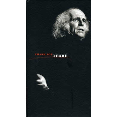 Leo Ferre THANK YOU FERRE: ANTHOLOGIE CD