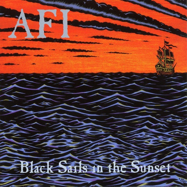 AFI BLACK SAILS IN THE SUNSET Vinyl Record