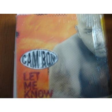 Cam'Ron LET ME KNOW (X4) Vinyl Record