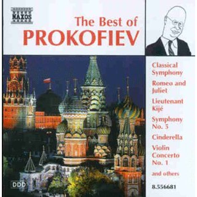 BEST OF PROKOFIEV CD