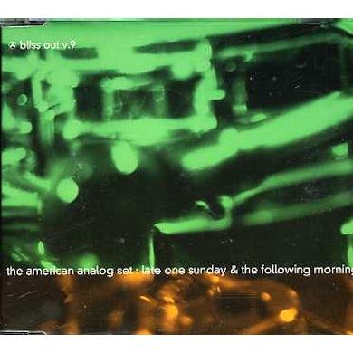 American Analog Set LATE ONE SUNDA: BLISS OUT 9 CD