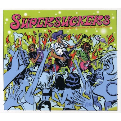 Supersuckers GREATEST ROCK & ROLL BAND IN THE WORLD CD