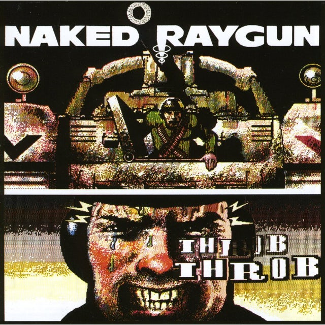 Naked Raygun THROB THROB CD