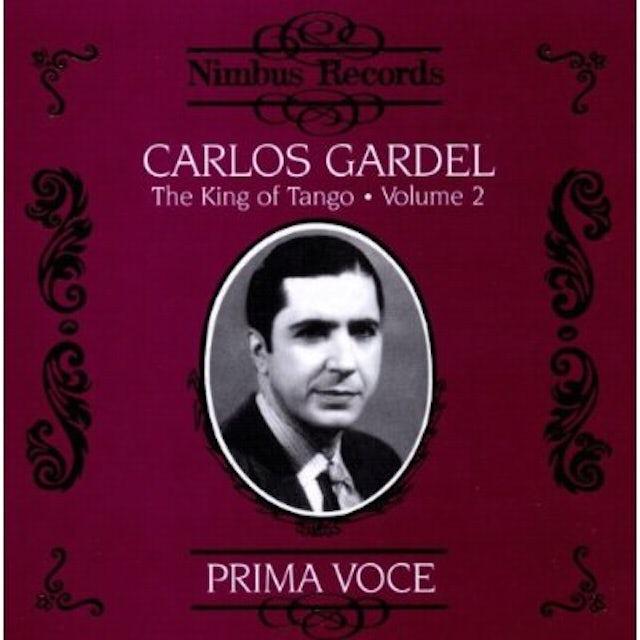 Carlos Gardel KING OF THE TANGO 2 CD