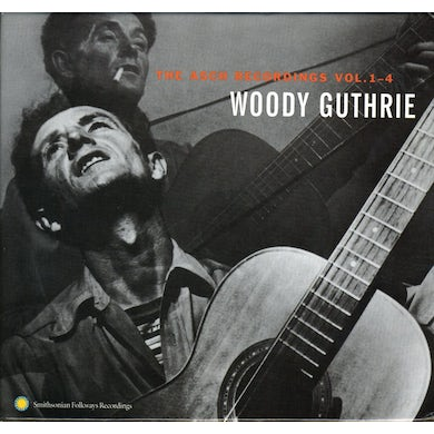 Woody Guthrie ASCH RECORDINGS 1-4 CD