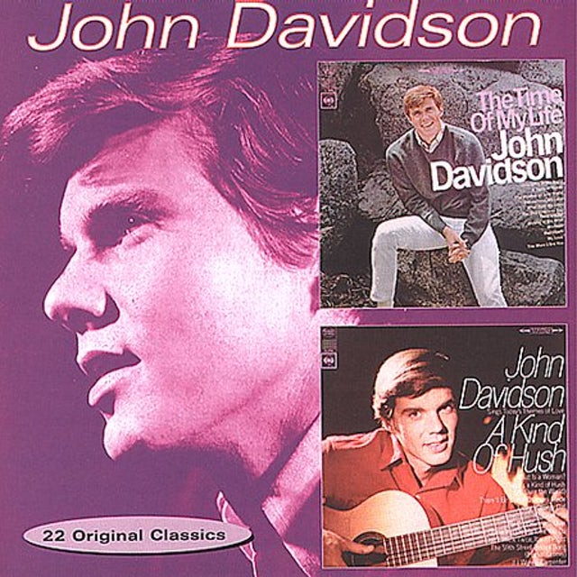 John Davidson TIME OF MY LIFE / KIND OF HUSH CD
