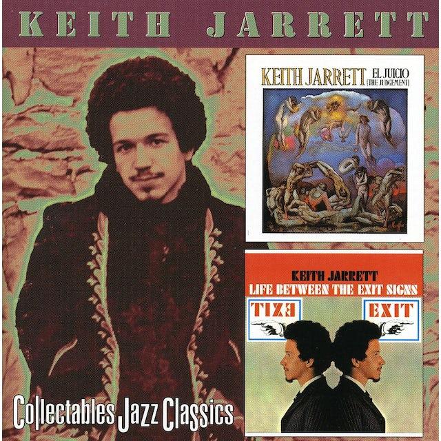 Keith Jarrett JUICIO / LIFE BETWEEN THE EXIT SIGNS CD