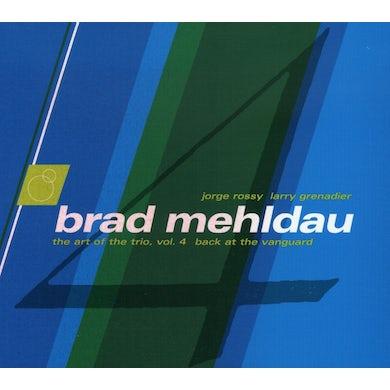Brad Mehldau ART OF TRIO 4: BACK AT THE VANGUARD CD