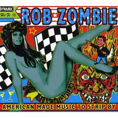 Rob Zombie AMERICAN MADE MUSIC TO STRIP BY CD