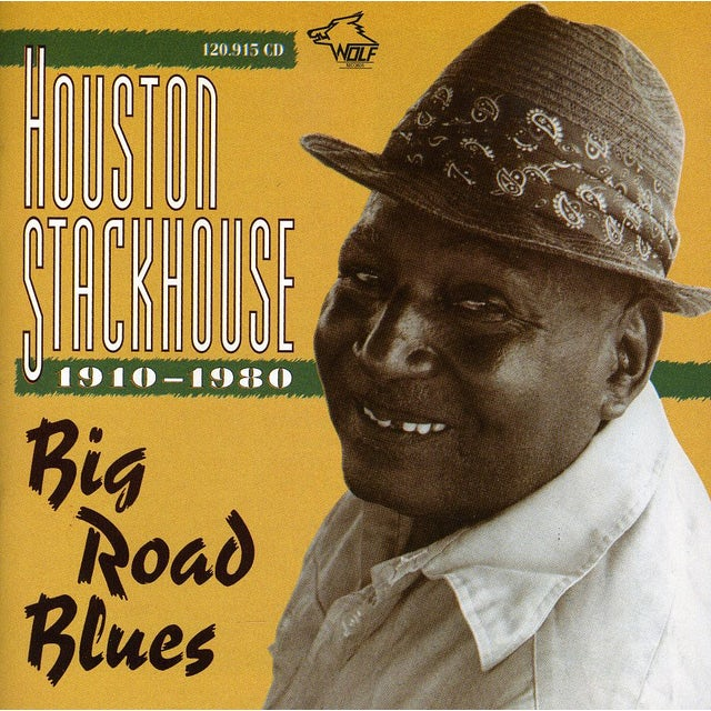 HOUSTON STACKHOUSE BIG ROAD BLUES CD