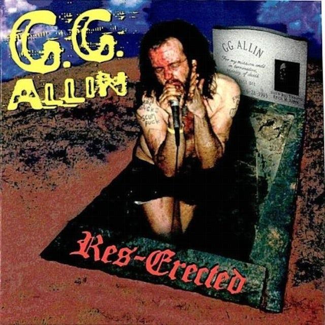 Gg Allin RES-ERECTED CD