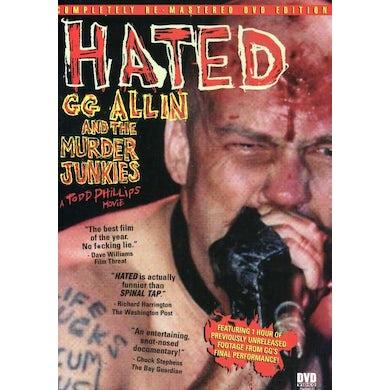 Gg Allin HATED DVD