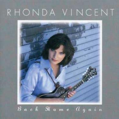 Rhonda Vincent BACK HOME AGAIN CD