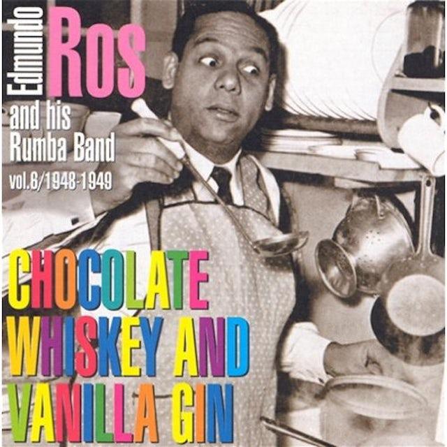 Edmundo Ros CHOCOLATE WHISKEY & VANILLA GIN 1948-49 CD